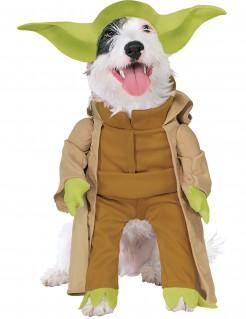 Meister Yoda™-Hundekostüm Star Wars™ braun-grün