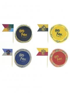 Harry Potter™-Kuchenzubehör Muffinsförmchen 100-teilig bunt