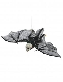 Skelett Fledermaus Halloween Hängedeko 90 cm