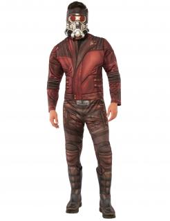 Star-Lord™-Kostüm für Erwachsene rot-braun