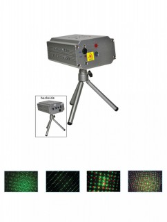 Multifunktionslaser mit Lichteffekten bunt