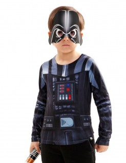 Star Wars™ Kinder-Shirt Darth Vader Lizenzware schwarz