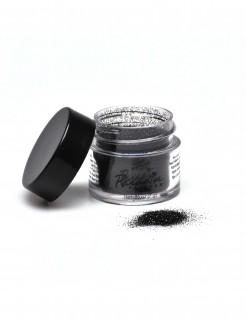 Professionelles Glitzerpulver von Mehron Make-up schwarz 7g