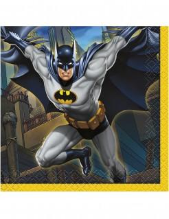 Batman™-Papierservietten 16 Stück bunt 25x25cm