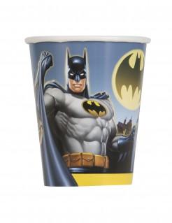 Batman™-Pappbecher 8 Stück bunt 250 ml
