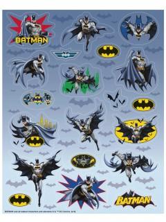 Batman™-Aufkleber 4 Bögen mit je 20 Stickern bunt