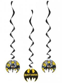 Batman™-Hängespiralen 3 Stück bunt