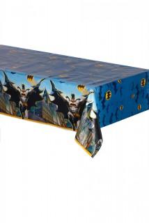 Batman™-Tischdecke Lizenzartikel blau-bunt 137x213cm