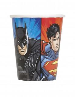 Justice League™ Pappbecher 8 Stück bunt 250 ml