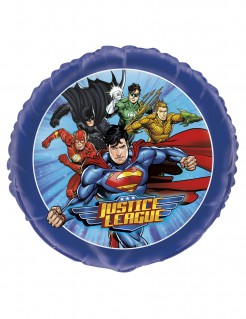 Justice League™-Aluminiumballon bunt 45 cm