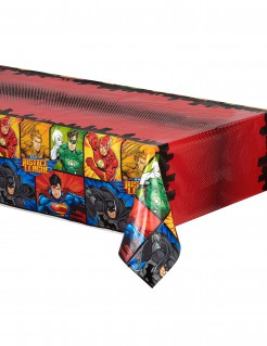 Justice League™-Tischdecke bunt 137 x 213 cm