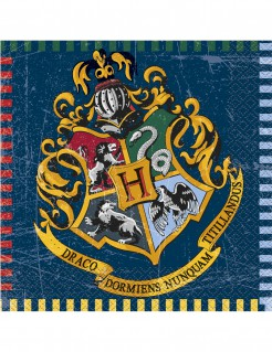 Harry Potter™ Papierservietten Party-Tischdeko 16 Stück bunt 33 x 33cm