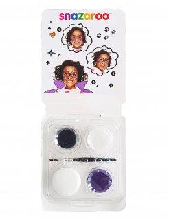 Hexen-Schminkset Snazaroo™-Make-up 5-teilig violett-schwarz-weiss