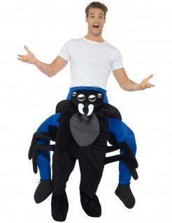 Spinnenträgerkostüm Carry-Me-Kostüm schwarz-blau