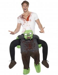 Carry-Me-Zombiereiter Halloweenkostüm bunt