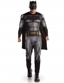 Batman™-Kostüm Justice League™ Halloweenkostüm schwarz-grau