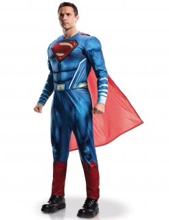 Superman™-Herrenkostüm Justice League™ blau-rot