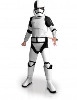 Star Wars 8™ Executioner Stormtrooper Deluxe Kinderkostüm Lizenzware weiss-schwarz