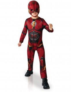 Flash™-Kinderkostüm schwarz-rot-gelb