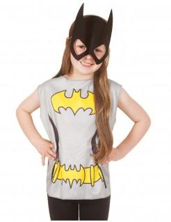 Batgirl™-Set für Mädchen 2-teilig grau-schwarz-gelb