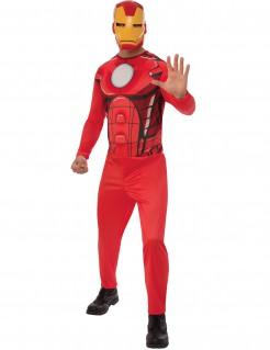 Iron Man™-Herrenkostüm rot-gelb-weiss
