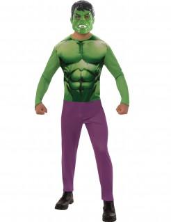 Hulk™-Lizenzkostüm für Erwachsene grün-violett