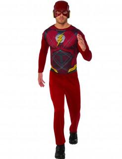 Flash™-Herrenkostüm schwarz-rot-gelb