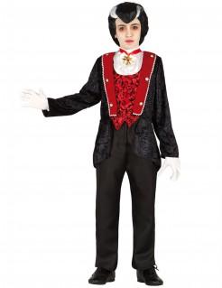 Vampirkostüm Kinderkostüm schwarz-rot