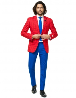 Mr. Spiderman™-Kostüm für Herren Opposuits™ blau-rot