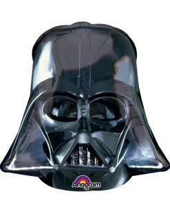 Star Wars™-Folienballon Darth Vader™-Lizenzartikel schwarz