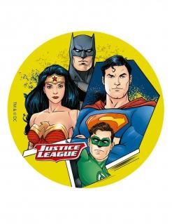 Justice League™-Kuchenplatte bunt 16 cm
