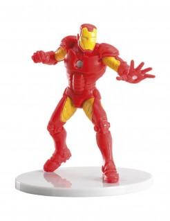 Iron Man™ Kuchen-Dekofigur rot-gelb