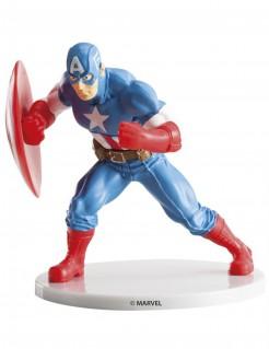 Captain America™-Figur Kuchendeko bunt 9cm