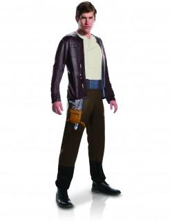 Star Wars 8™ Poe Dameron Herrenkostüm Lizenzware braun-beige