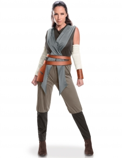 Rey Damenkostüm Star Wars 8™ Lizenzware grau