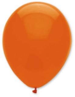 Luftballons 6 Stück orange 30cm