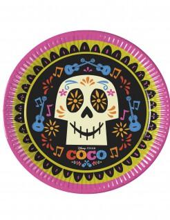 Coco™-Teller Disney™-Partydeko Sugar Skull 8 Stück bunt 23cm
