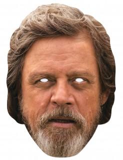 Luke Skywalker™-Maske Star Wars™-Lizenzartikel hautfarben-braun