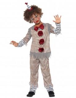 Klassisches Clownkostüm für Jungen bunt