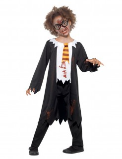 Zombie-Zauberlehrling-Kostüm Kinderkostüm bunt