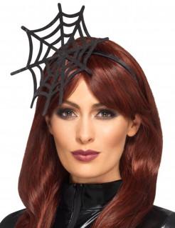 Spinnennetz-Haarreif schwarz