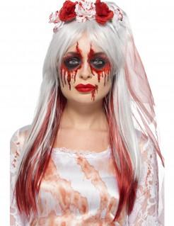 Kunstblut-Schminkset für Halloween 5-teilig bunt