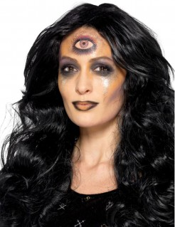 Wahrsager-Make-up-Set Halloween 6-teilig bunt