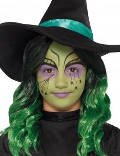 Kinder-Hexen-Schminkset Halloween bunt