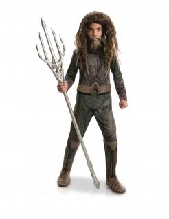 Aquaman™-Kinderkostüm DC™ braun-grün