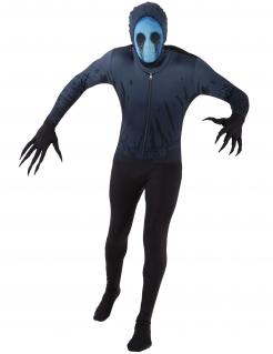Eyeless Jack™ Morphsuits™-Kostüm für Halloween schwarz