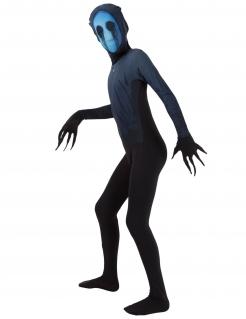 Eyeless Jack™Halloween Morphsuits™ Kinderkostüm schwarz