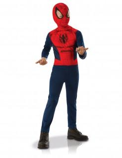 Spiderman™-Kostüm für Jungen Halloween-Kostüm blau-rot