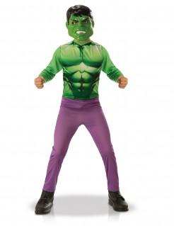 Hulk™ Kinder-Lizenzkostüm grün-violett