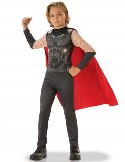 Thor™ Kostüm für Jungen schwarz-rot
